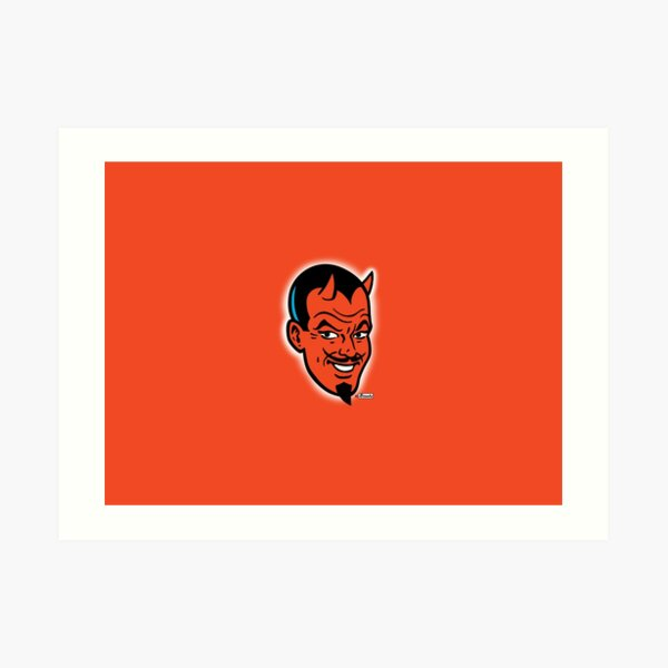 Handsome Devil! Art Print