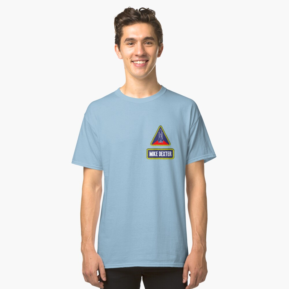 Astronaut Mike Dexter Classic T-Shirt Front