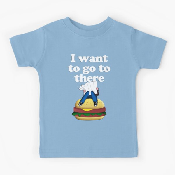I want to go to there Kids T-Shirt
