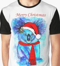 Christmas Koala Graphic T-Shirt