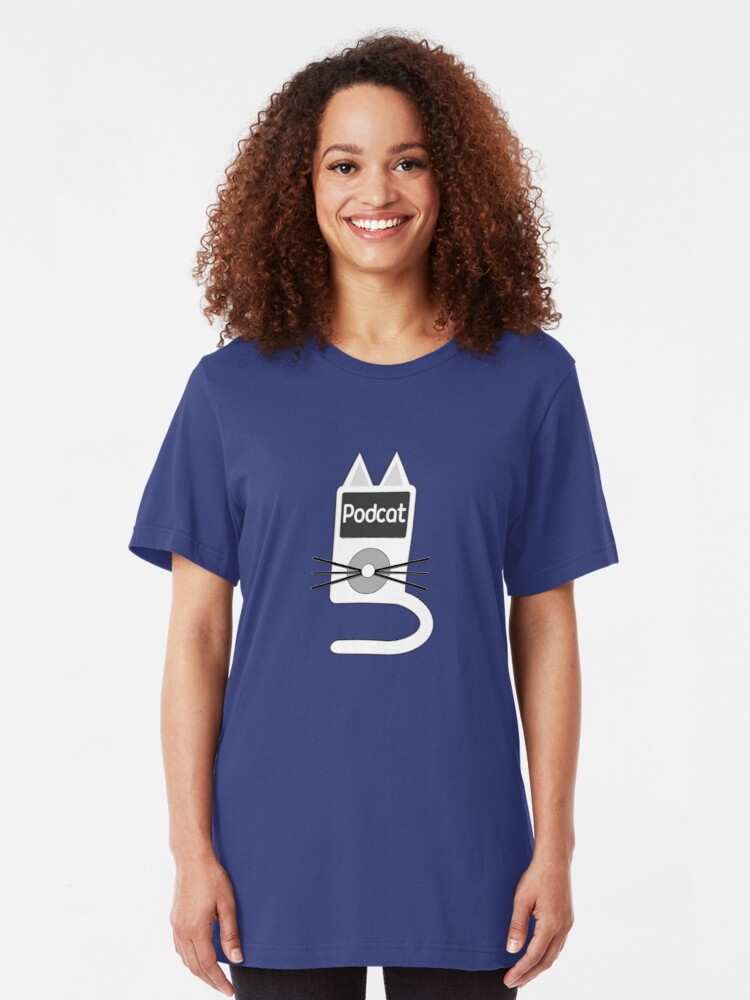 Alternate view of Podcats Slim Fit T-Shirt