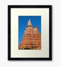 Queen Victoria Rock Formation Framed Print