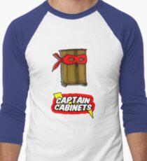Captain Cabinets Men's Baseball ¾ T-Shirt