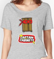 Captain Cabinets Women's Relaxed Fit T-Shirt