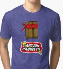 Captain Cabinets Tri-blend T-Shirt