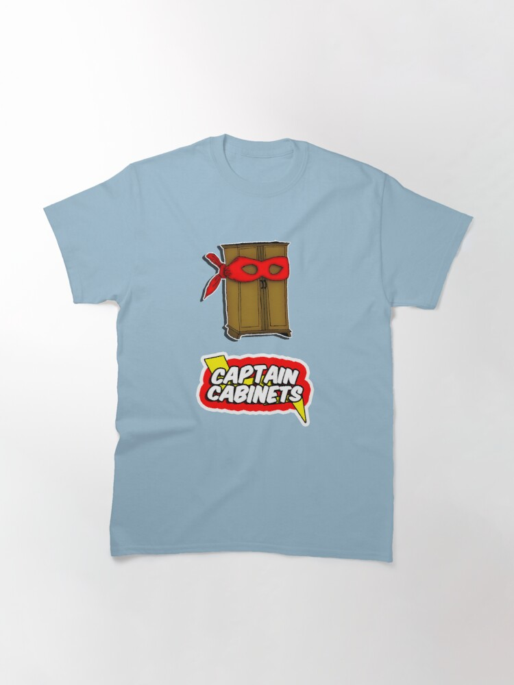 Alternate view of Captain Cabinets Classic T-Shirt