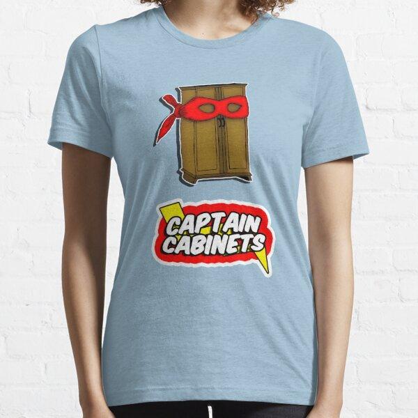 Captain Cabinets Essential T-Shirt