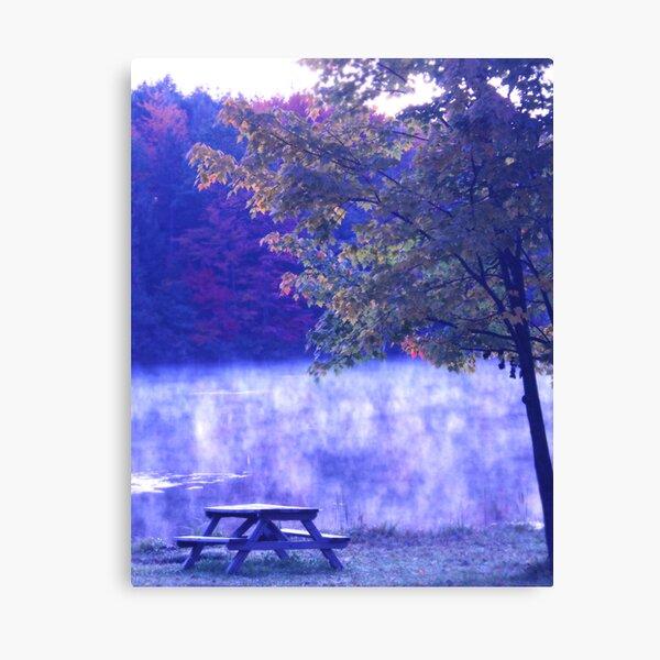 Shall we picnic at sunrise? Canvas Print