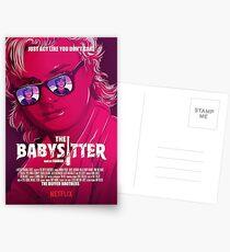 FREMDE DINGE / STEVE & DUSTIN / THE BABY SITTER Postkarten