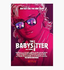 STRANGER THINGS / STEVE & DUSTIN/ THE BABY SITTER  Photographic Print