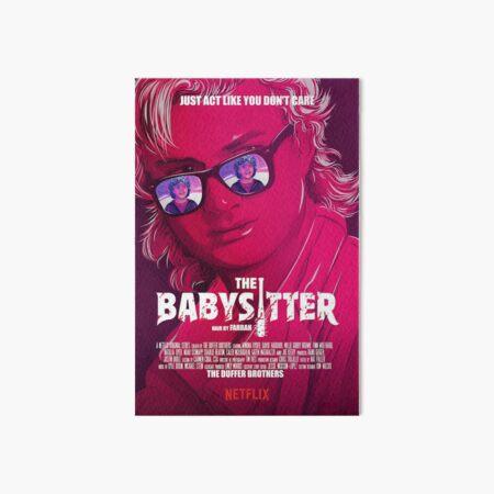 STRANGER THINGS / STEVE & DUSTIN/ THE BABY SITTER  Art Board Print