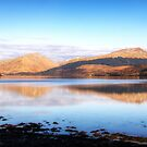 Late Afternoon Light, Loch Fyne, Scotland by Christine Smith