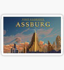 Visit Assburg  Sticker
