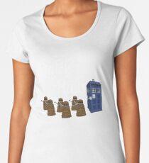 The Doctor's Sleigh Women's Premium T-Shirt