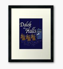 The Doctor's Sleigh Framed Print
