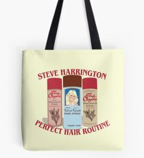 Stranger Things: Steve Harrington's Hair Routine  Tote Bag