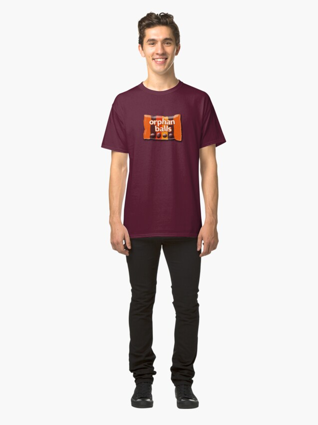 Alternate view of Orphan Balls Classic T-Shirt