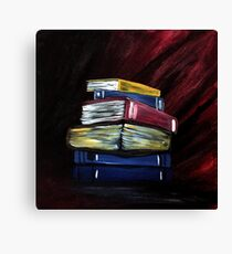 Books Of Knowledge Canvas Print