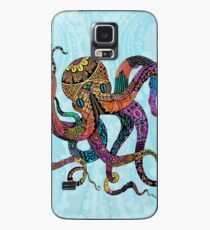 Electric Octopus Case/Skin for Samsung Galaxy