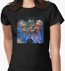 Christmas Carol-muppets Women's Fitted T-Shirt