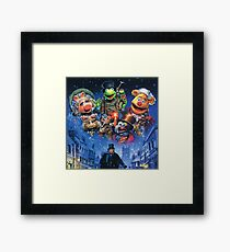 Christmas Carol-muppets Framed Print