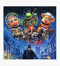 Christmas Carol-muppets Photographic Print