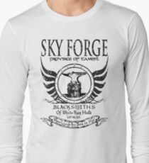 SkyForge - Where Legends Are Born In Steel T-Shirt