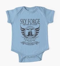 SkyForge - Where Legends Are Born In Steel Kids Clothes