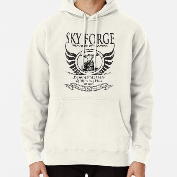 SkyForge - Where Legends Are Born In Steel Pullover Hoodie