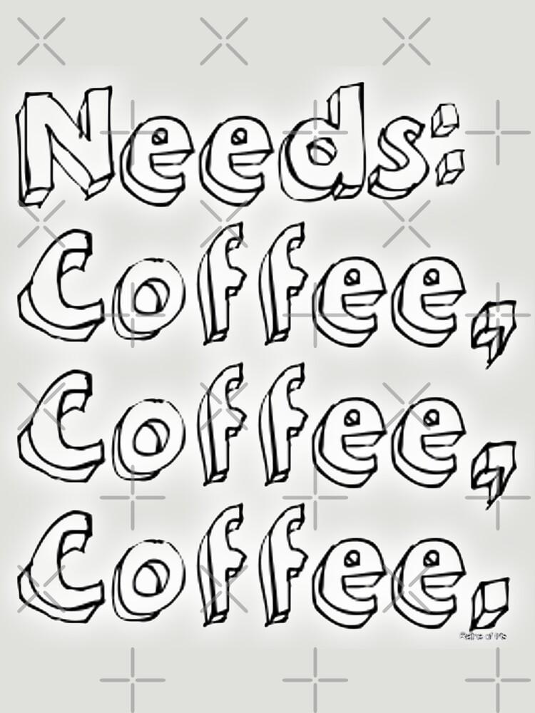 Needs: coffee, coffee, coffee. by raineofiris