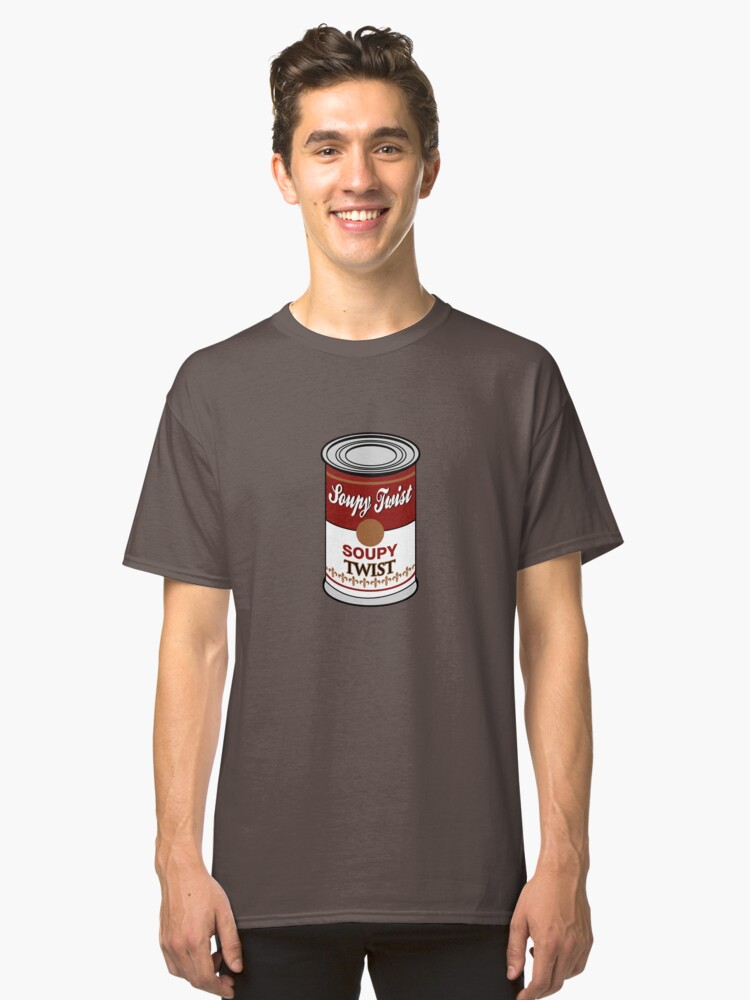 Alternate view of Soupy Twist Classic T-Shirt