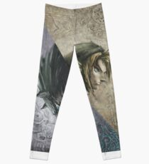 Legend of Zelda Twilight Princess Cover Art Leggings