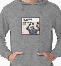 The Walking, Talking, I-Don't-Care Man! Lightweight Hoodie