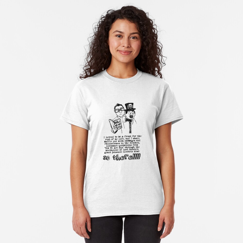 I shall baffle you with cabbages and rhinoceroses in the kitchen Classic T-Shirt