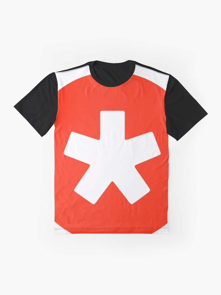Alternate view of Original Red Star Graphic T-Shirt