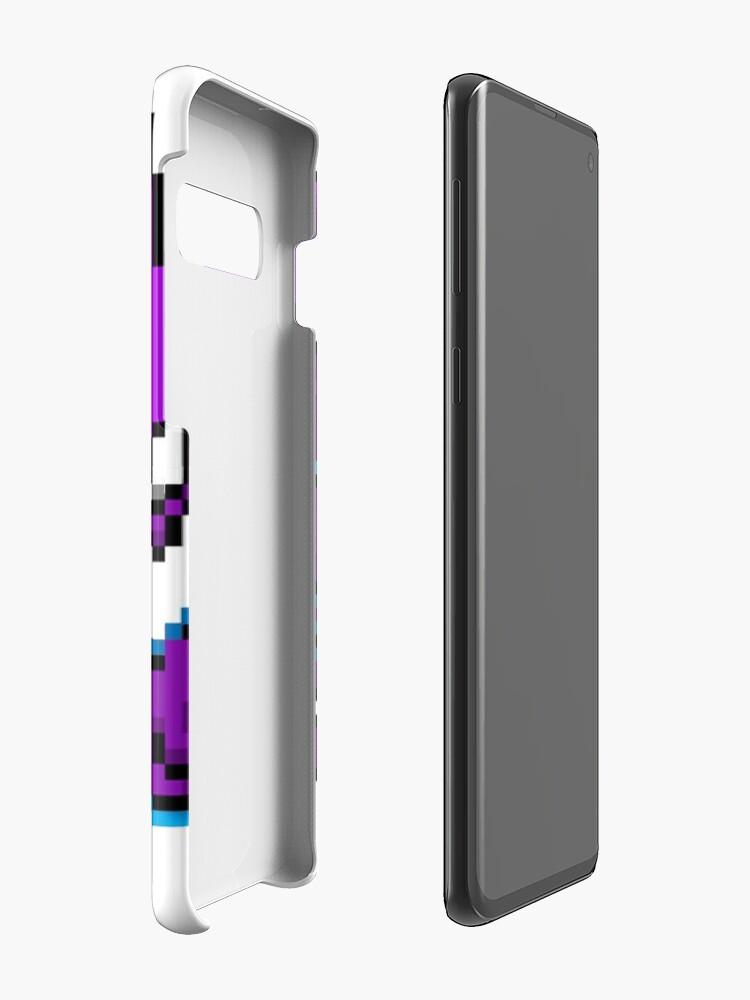 Vista alternativa de Funda y vinilo para Samsung Galaxy Shiny Haunter Sprite