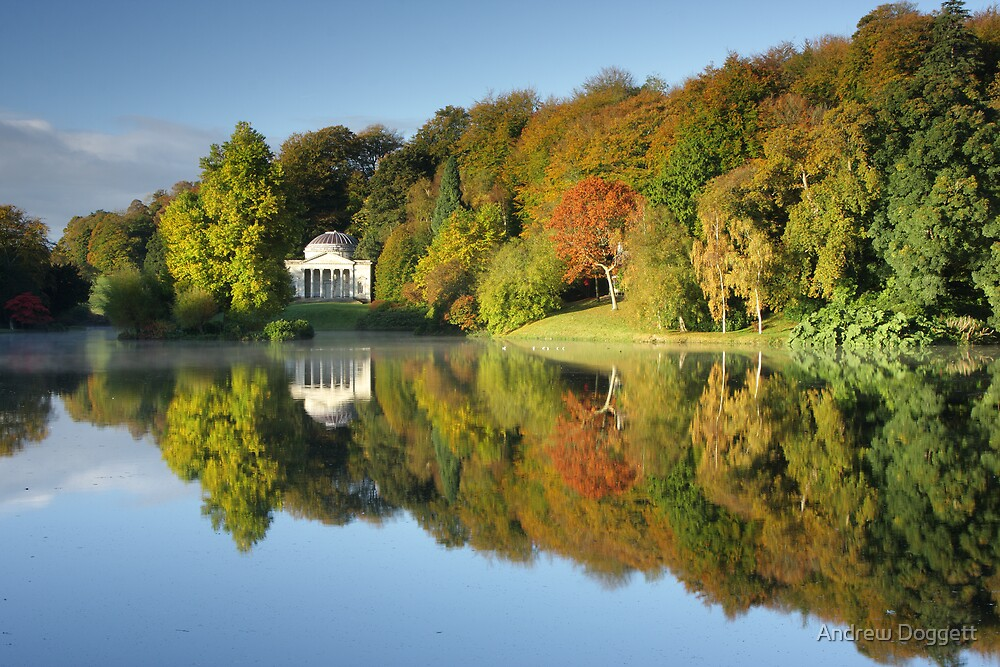 Stourhead by Andrew Doggett