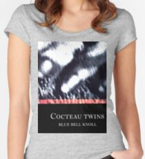 cocteau twins blue bell knoll Women's Fitted Scoop T-Shirt