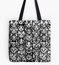 Kittens - Classic Black and White Tote Bag