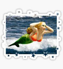 Mermaid Sings ~ Take a Bow Sticker