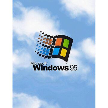 windows 95 shirt by bernys