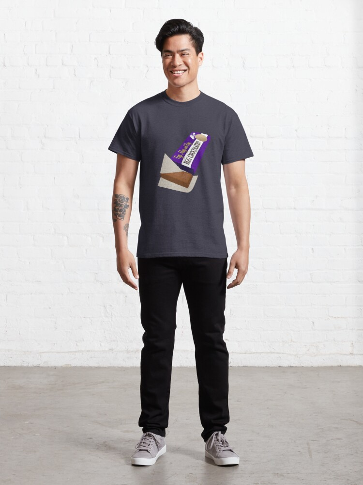 Alternate view of Egg Chocolate? Classic T-Shirt