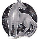 Celtic Dog Fairy - Cù Sith by shellysea