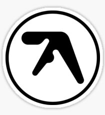 aphex twin sticker Sticker