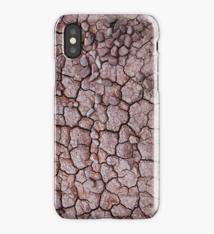 Dry Cracked Mud iPhone Case/Skin