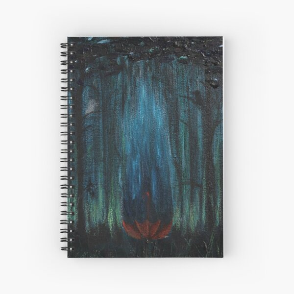 Falling Up Spiral Notebook