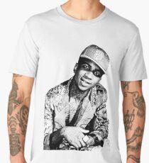 lil b halftone posterized basedgod based god Men's Premium T-Shirt