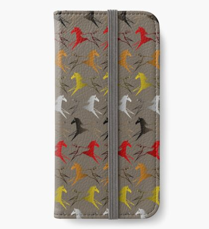 Four direction War Horse iPhone Wallet