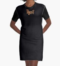 Rusty Djent Graphic T-Shirt Dress