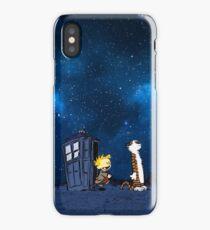 Calvin Hobbes Galaxy iPhone Case